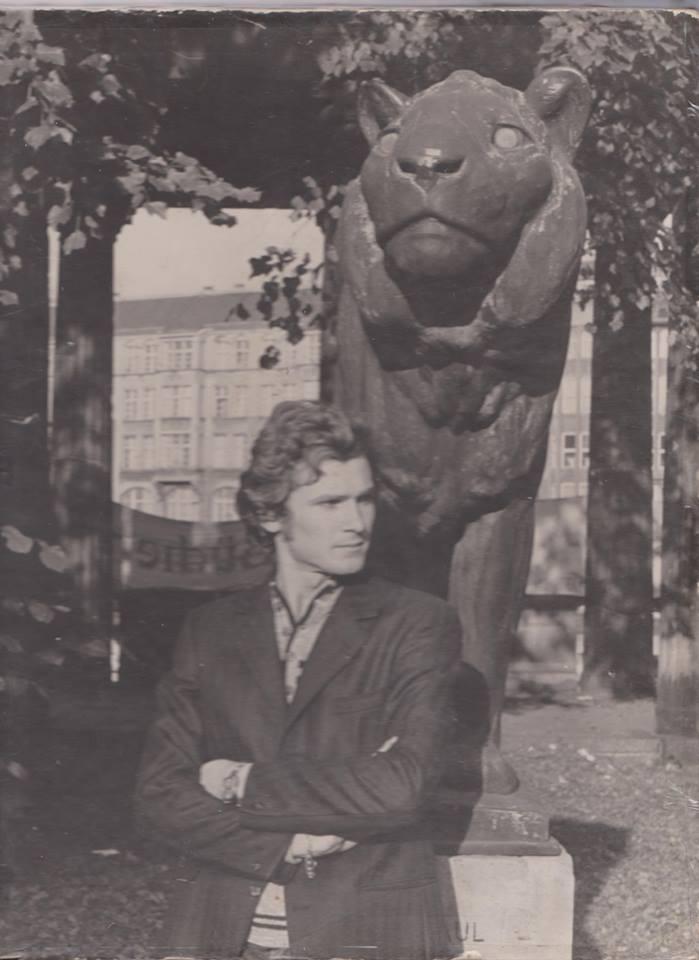 Adam Lauks als Student in der DDR 1972/1973 kam ich aus Belgrad